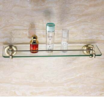 glass single shelf