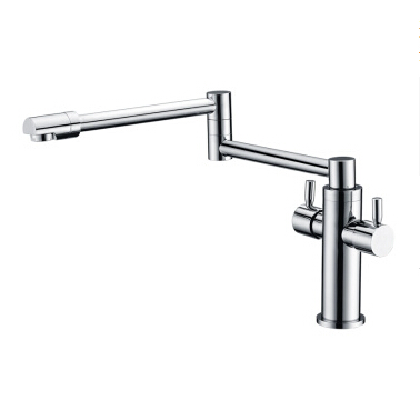 folded faucet