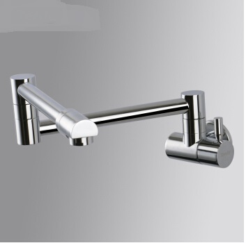 folded kitchen faucet