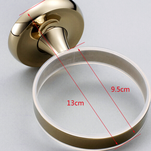It Has 5 Inch Width To The Wall And Round Holder 4 Diameter Used Refined Brass Casting With Polished Finish