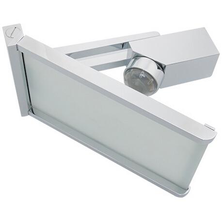 Luxury Glass Spout Brass Body Waterfall Led Sink Faucet
