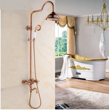 Many Young People Like This Color Because It Is Full Of Vintage Style But  Not As Old As Antique Brass. Choose A Rose Gold Shower Faucet To Highlight  Your ...