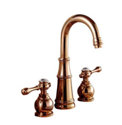 rose gold faucet
