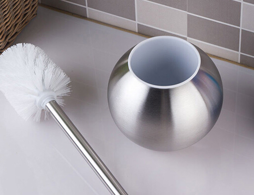The Brush Holder Has Very Beautiful Shiny Silver Color With Metal Texture So Good Quality It Contains A And