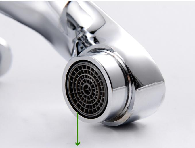 Modern Filtering Cold Water Only Bathroom Sink Faucet