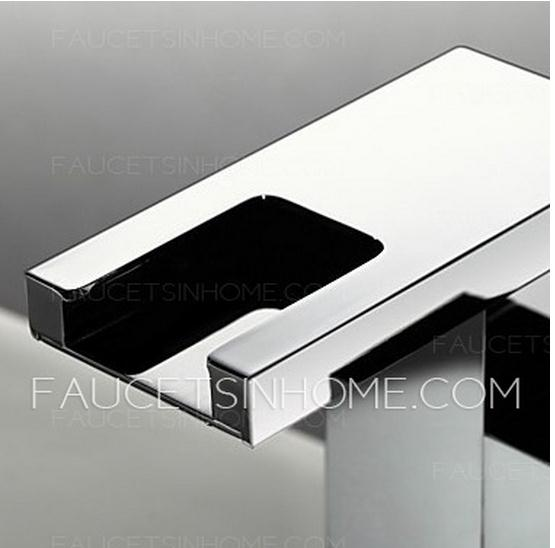 Waterfall LED Automatic Sink Faucet