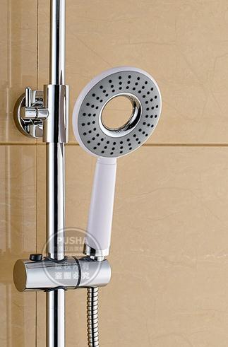 Elevating Grey Bathroom Shower Faucet