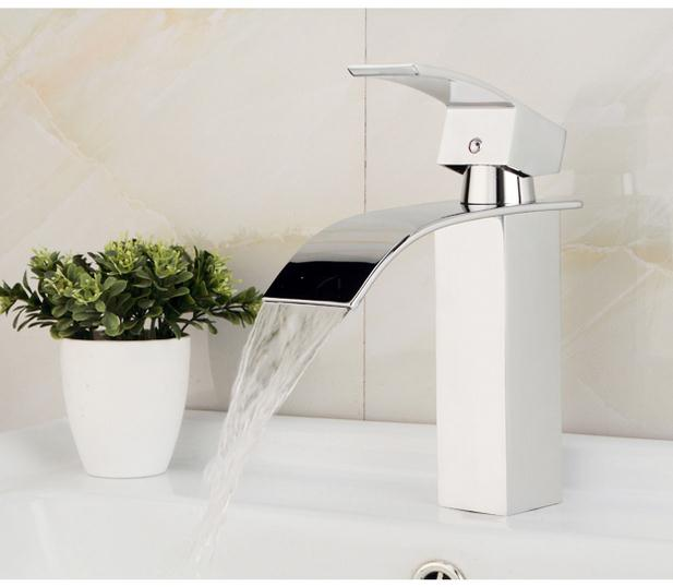 Luxury Waterfall Sink Faucet