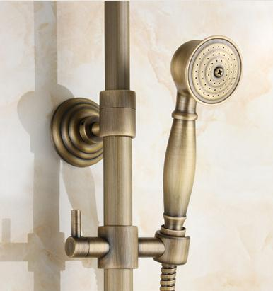 Vintage Copper Bathroom Shower Faucet