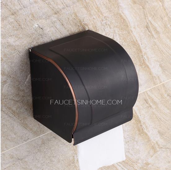 Bathroom toilet paper holders