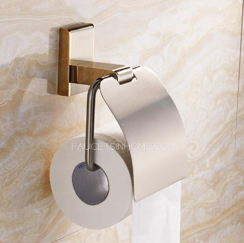 Toilet paper roll holders