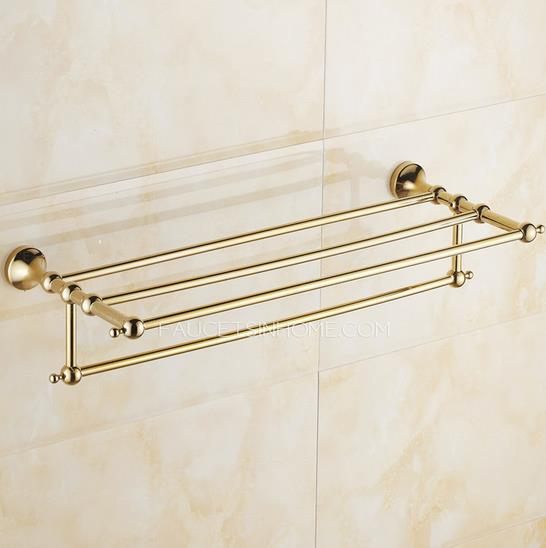 New Brushed Steel Wall Mount Towel Rack  Crate And Barrel