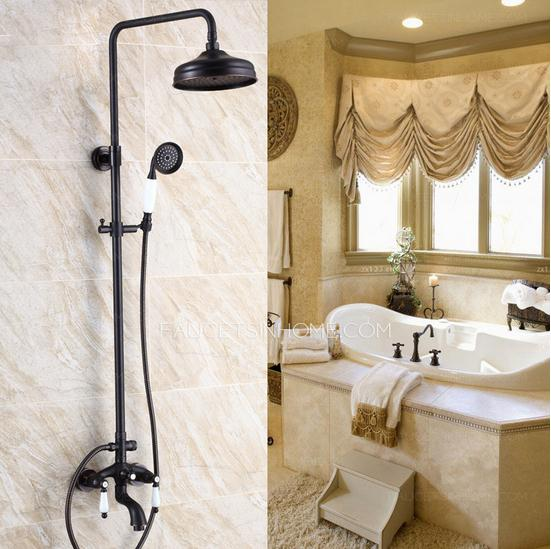 Black Antique Bronze Shower Faucets