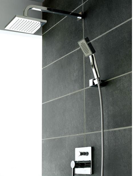 Simple Concealed Wall Mount Shower Faucet