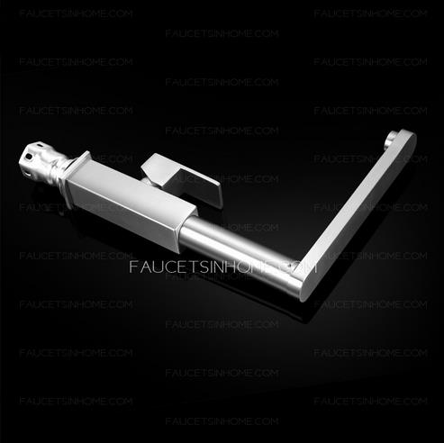 Stainless steel kitchen sink faucet