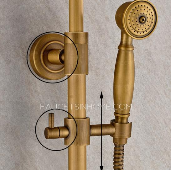 Vintage Shower Faucet with Shelf
