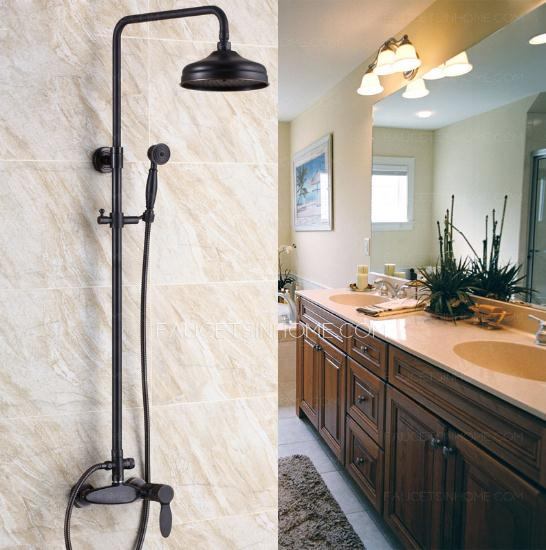Retro Black Shower Faucet