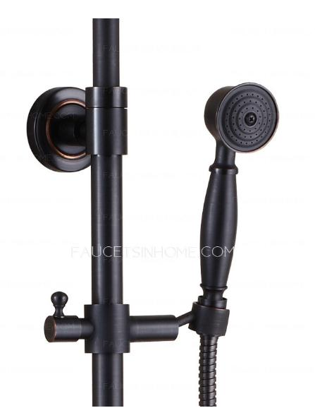 Retro Black Shower Faucet
