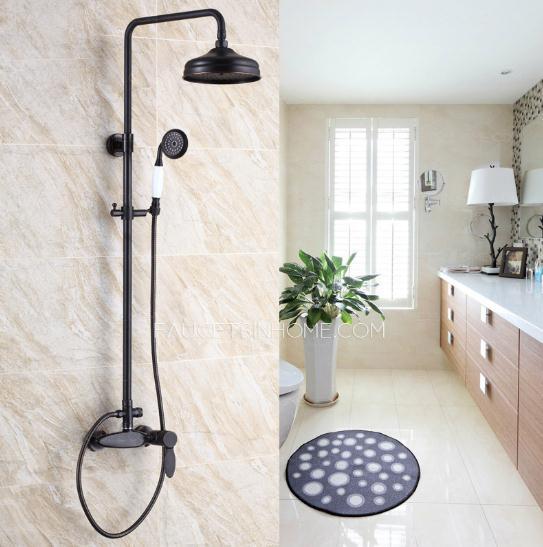 Vintage Oil Rubbed Bronze Shower Faucets