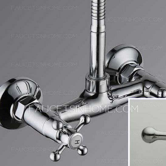 Electroplated kitchen sink faucet