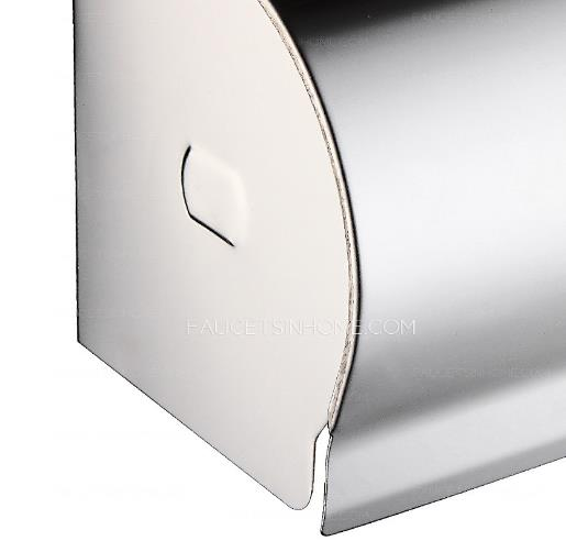 Stainless steel toilet paper holders