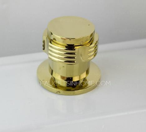 luxury gold bathroom brass toilet paper holders