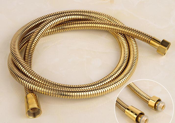 Luxury Vintage Brass Rotatable Shower Faucets