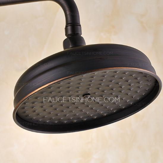 Vintage Oil Rubbed Bronze Brass Shower Faucets