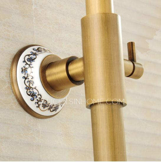 Quality Ceramic Brass Brushed Shower Faucets