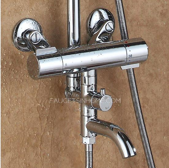 Thermal Anti-Scald Shower Faucets