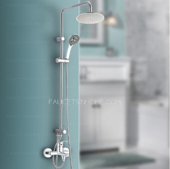 Chrome Finish Top Rated Shower Faucets