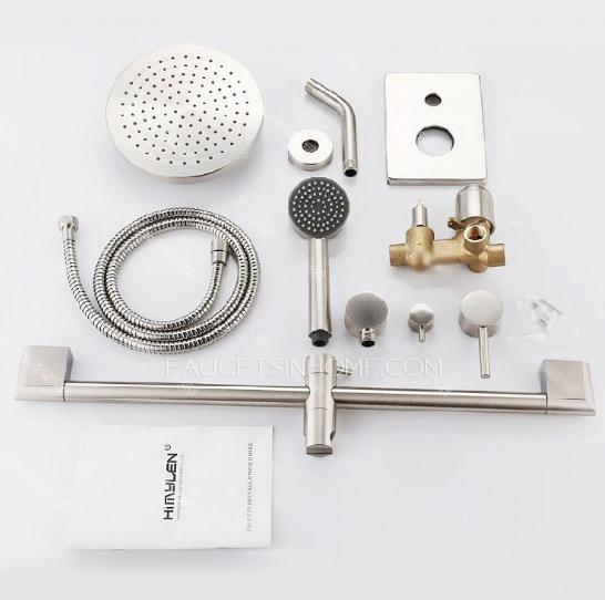 5 Holes Wall Mounted Installation Shower Faucet