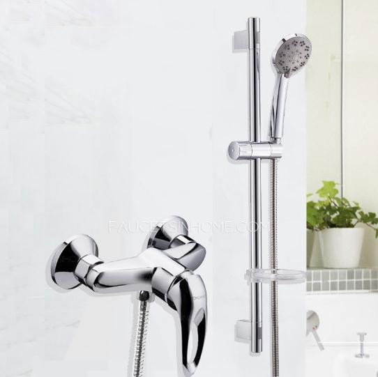 Fashion Hand Shower In Shower Faucet With Elevating Pipe