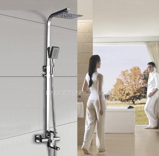 Fashion Design Silm Top Luxury Hand Shower Faucet