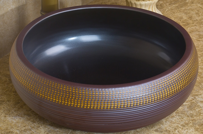 Vintage Round Ceramic Sinks