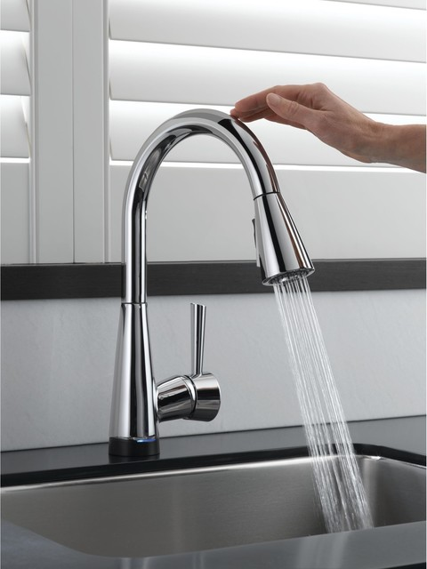 Elegant The Kitchen Faucet Is Made Of A Screw Spool The Pullout Of Water Is  Dependent On The Stem Rotation When The Thread Movesit Will Achieve The  Final ...