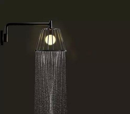 Creative chandelier style shower