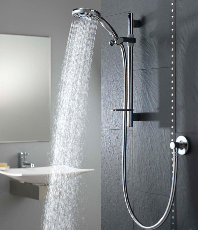 Simple Modern Shower Faucet