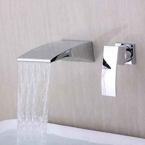 Waterfall Spout Bathtub Faucet