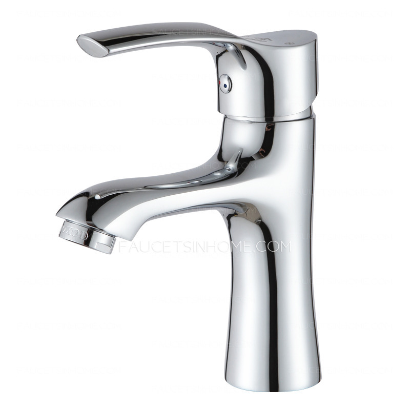 Classic Single Level Handle Deck Mounted Bathroom Sink Faucet
