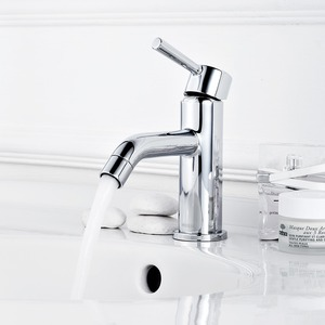 Modern Design Single Handle Bathroom Sink Faucet
