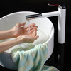 Classic Vessel Rotatable Painted One Hole Bathroom Sink Faucet