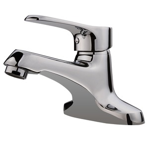 Classic Two Holes Deck Mounted Bathroom Sink Faucet
