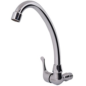 Simple Cold Water Only Wall Mounted Bathroom Sink Faucet