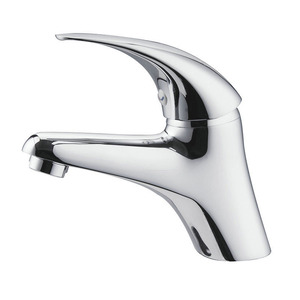 Modern Design One Hole Single Handle Bathroom Sink Faucet