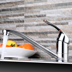 Classic Rotatable Filtering Single Handle One Hole Kitchen Faucet
