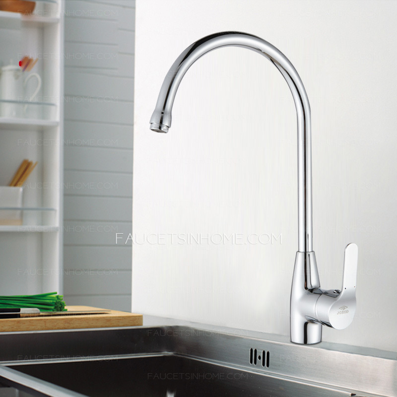 High End Rotatable Single Handle One Hole Kitchen Faucet
