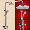 Modern Automatic Return Brass Casting Shower Faucet Set