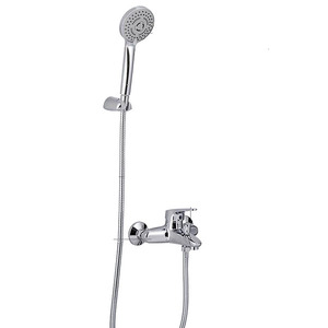 Simple Good Whole Brass Casting Shower Faucet Set