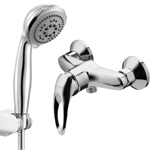 Classic Single Handle Hose in Wall Mounted Shower Faucet